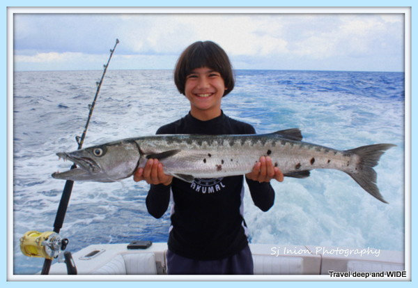 Barracuda from the deep sea fishing trip