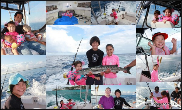 Deep sea fishing fun