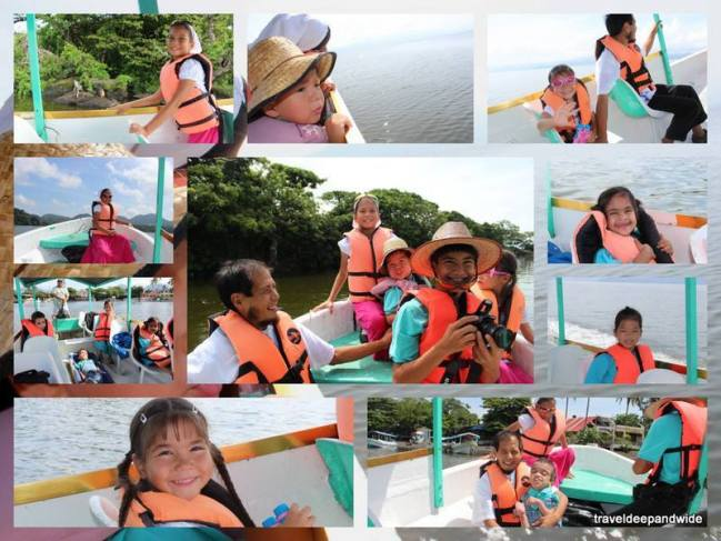 Lake Catemaco boating