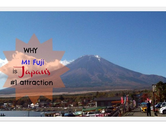 Mt. Fuji Japan's #1 attraction