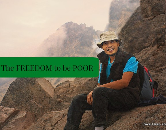FREEDOM to be POOR