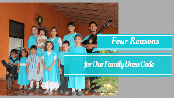 For Reasons for Our Family Dres Code