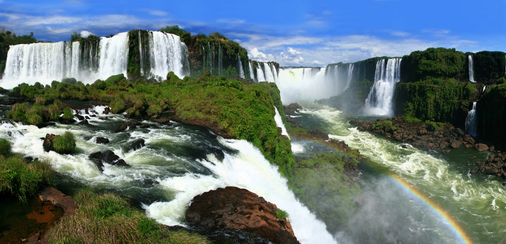Iguazu Falls Brazil Wallpaper Iguazu Falls The Stunning Waterfall In Argentina Brazil