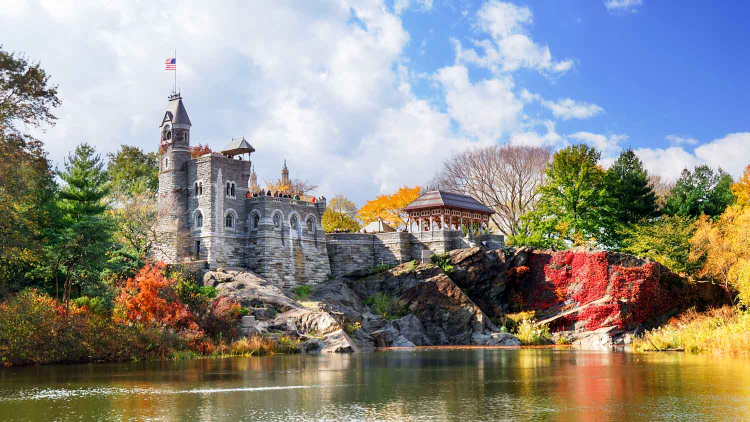 Central Park In Fall Wallpaper Central Park The Most Famous Park In New York United