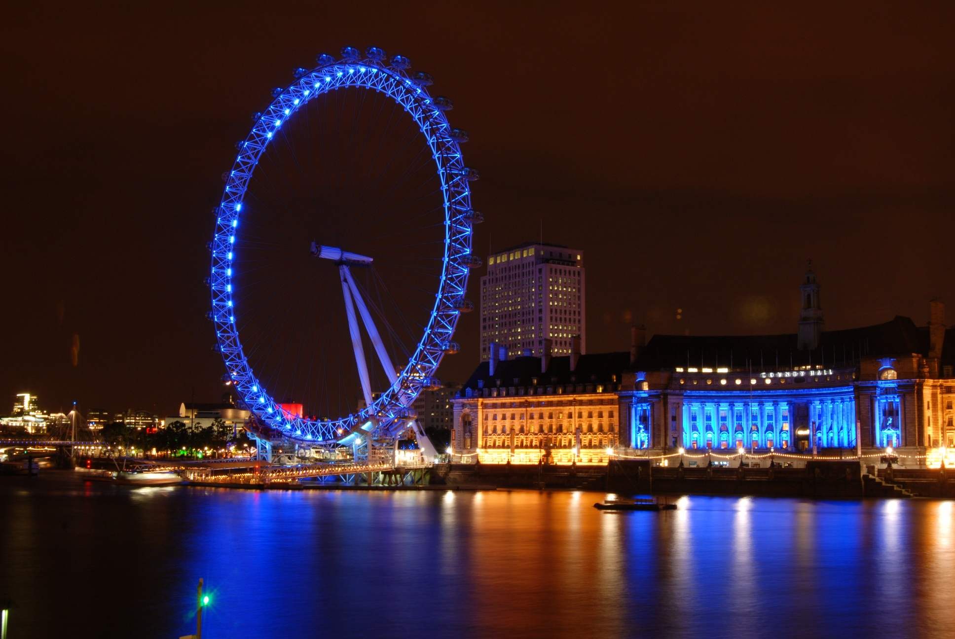 Skyline Car Wallpaper Hd London Eye The Best Place To See The Beauty Of The City