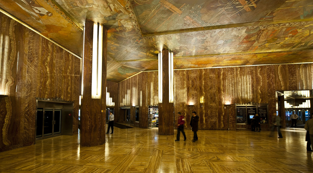 The Grandeur Of The Chrysler Building New York