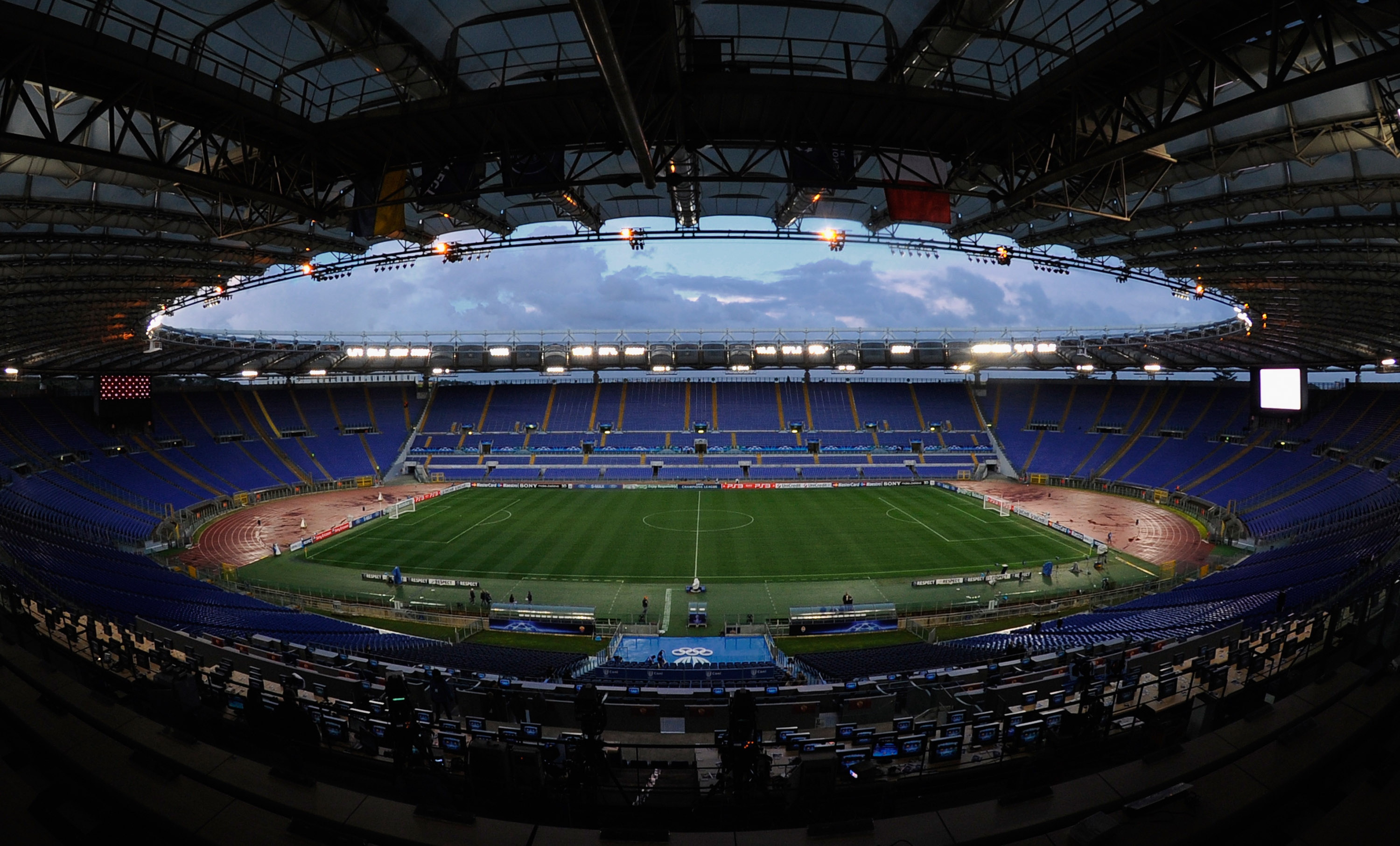 4k Sports Car Wallpaper Stadio Olimpico Stage For Fierce Duel Quot Derby Della