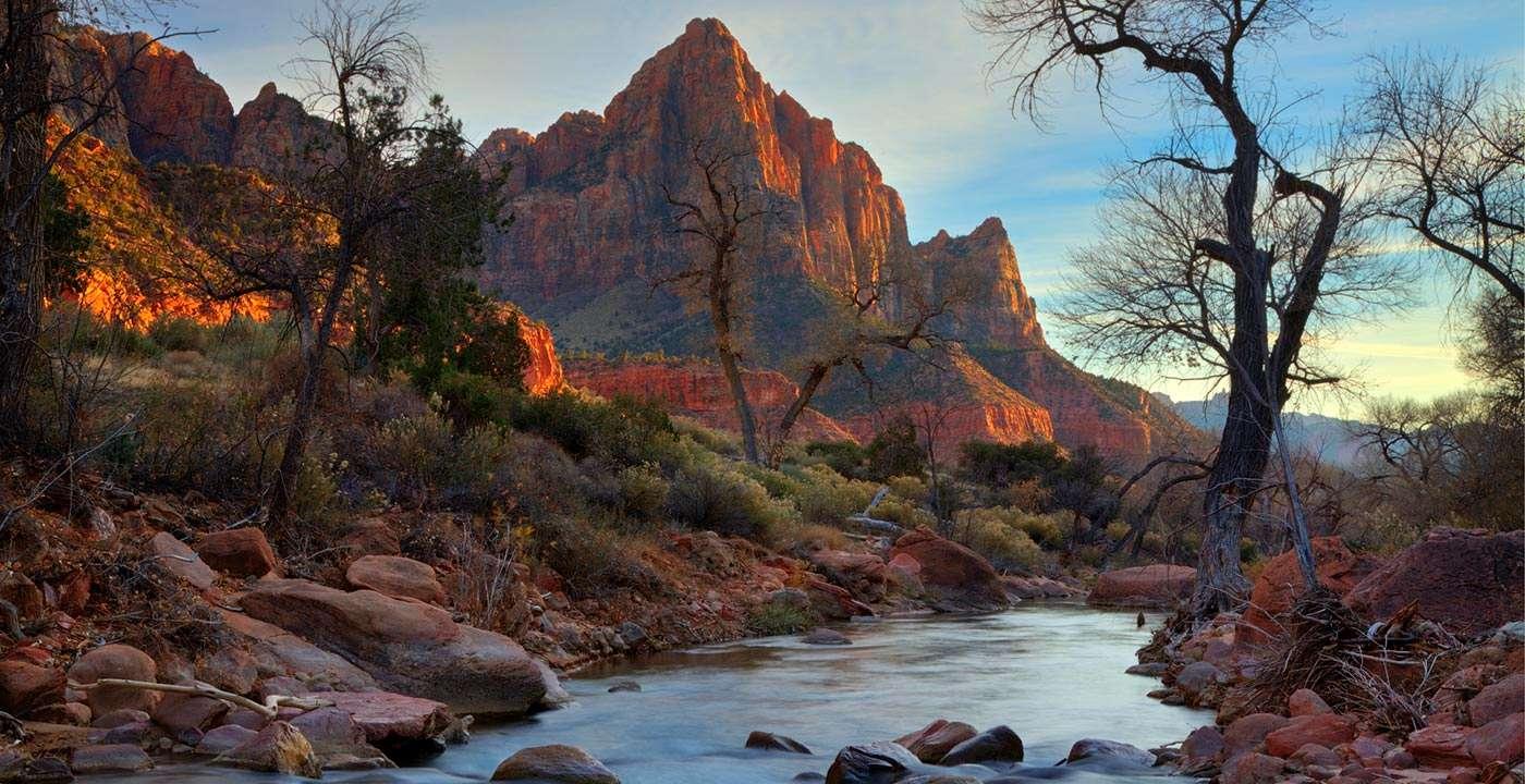 Fall Wallpaper Screensavers Zion National Park Utah Usa Traveldigg Com