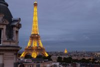 Paris Studio Apartment with Eiffel Tower View - Travel ...