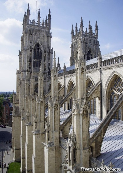 A Traveler Blog York Minster Cathedral York England Sta Topdeck Tour