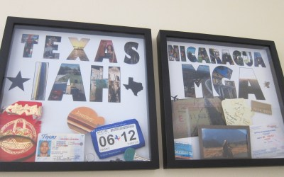 Display Your Memories: DIY Travel Shadow Boxes