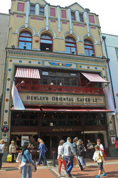 Bewleys Cafe on Grafton Street in Dublin