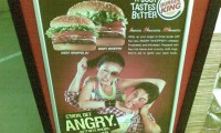 Singapore Angry Burger