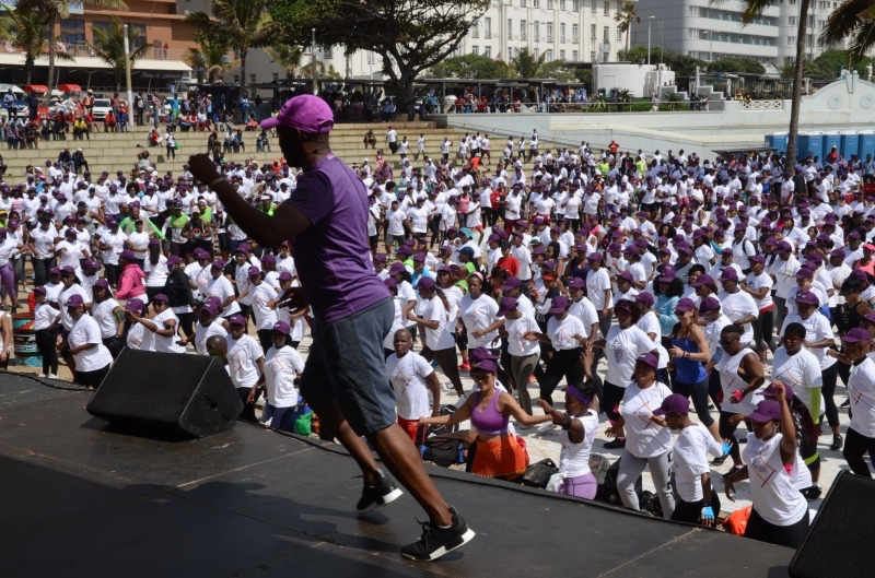 Essence Festival in Durban - Fitness