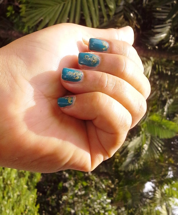 Orly Teal Unreal and Cirque Colors Helios