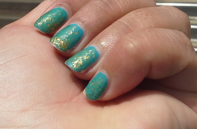 China Glaze Custom Kicks, Zoya Maria Luisa, Essie Matte about You