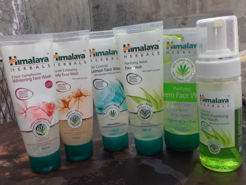 Himalaya Herbals face washes