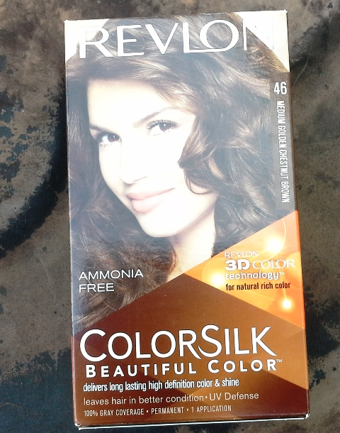 Revlon ColorSilk Medium Golden Chestnut Brown