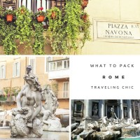 What to Pack: Rome, Italy