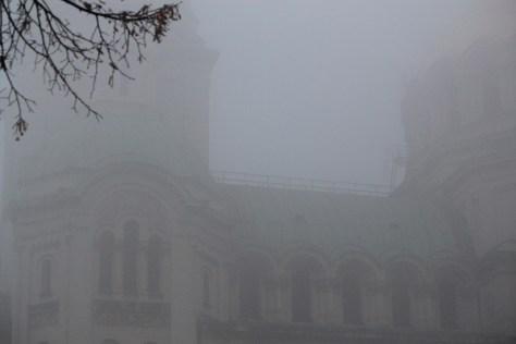 Fog Rolled In; Sofia, Bulgaria; 2011