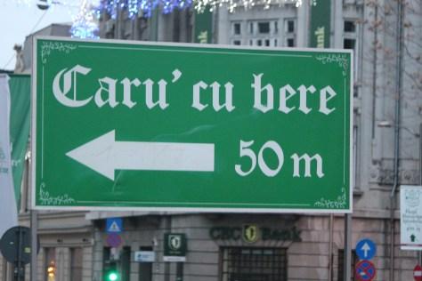 Street Sign; Bucharest, Romania; 2011