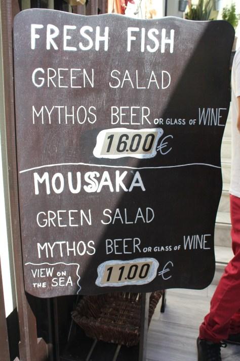 Mythos Beer; Santorini Island, Greece; 2013