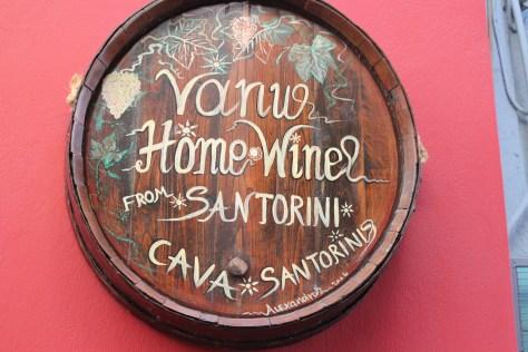 Wine; Santorini Island, Greece; 2013