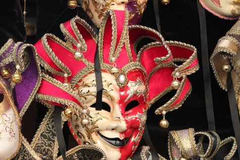 An Intricate Mask; Venice, Italy; 2011