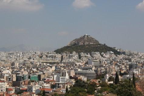 Cityscape; Athens, Greece; 2013