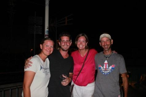 Ashley & I with New Mates; Athens, Greece; 2013