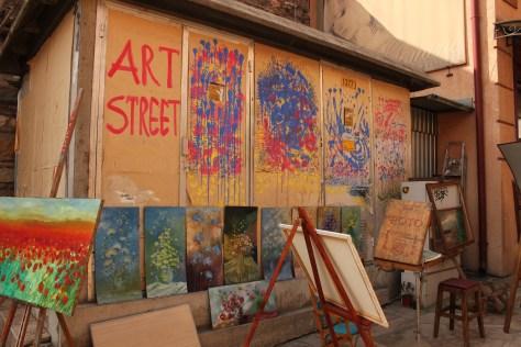 Art Street; Skopje, Republic of Macedonia; 2013