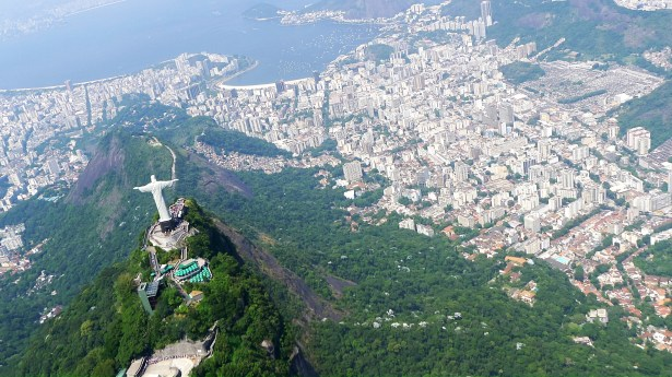 The Christo statue viewed from behind. Rio is a favourite among some celebrities. Photo: TravelingReporter.com