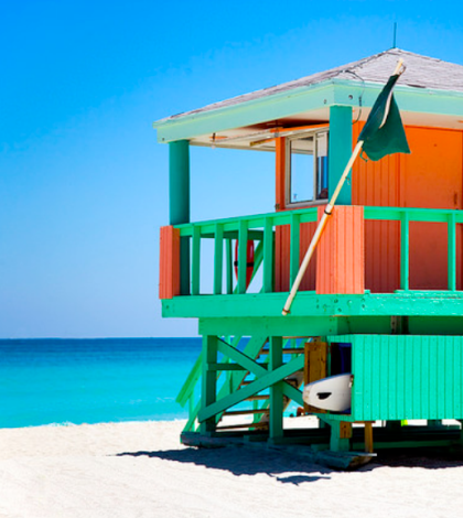 Miami beach cottage. Photo by flickr user .craig