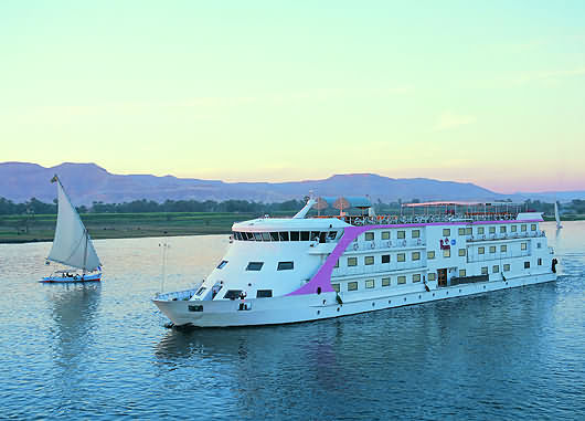 A part of the River Nile that used to be deemed unsafe has been opened to cruises.