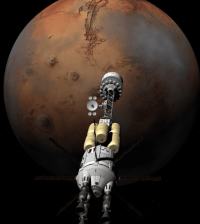 Travel to mars