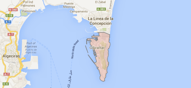 gibraltar map 615x283 Gibraltar tourism: Experience a European relic from colonial times storyoftheweek quickguide pageone stories recommended 2 europe