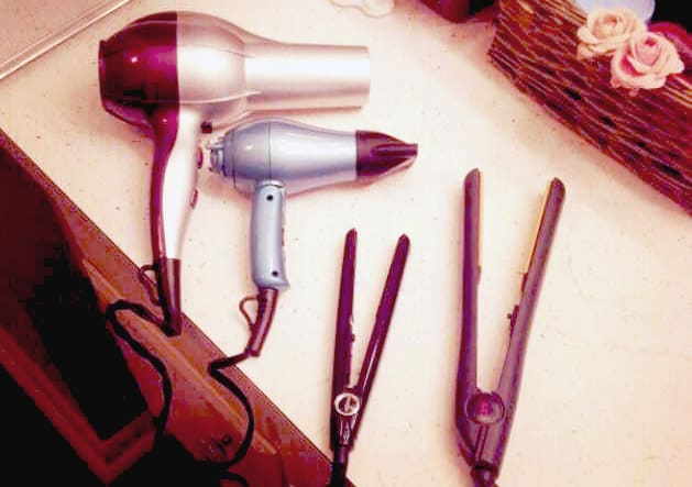 A word about hair appliances