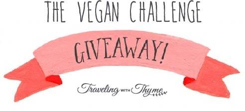 Giveaway Vegan Challenge