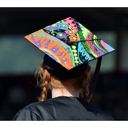 Small Crop Of Grad Cap Decoration