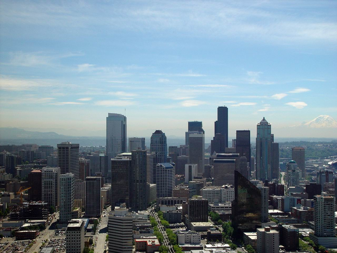 Seattle Washington In Fall City Night Wallpaper Top 10 Technologically Most Advanced Cities In United States