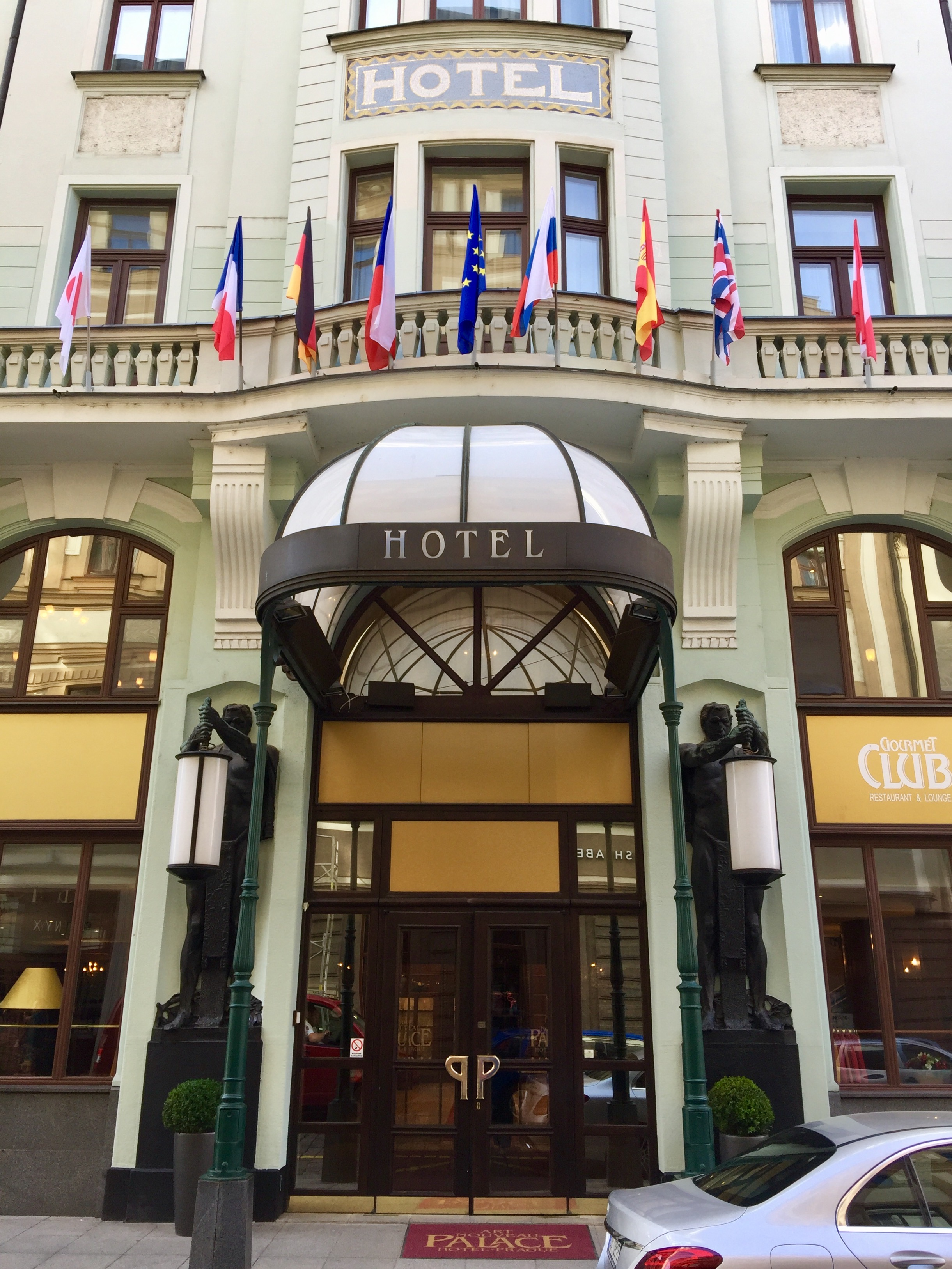 Art Nouveau Palace Hotel Prague Stay At Art Nouveau Palace Hotel Review