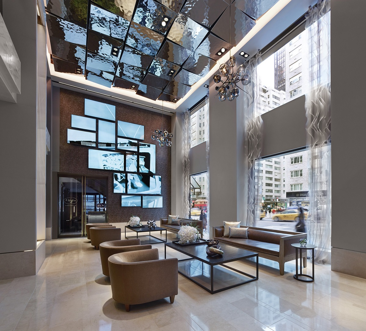 Hotel Design Ny The Quin New York Usa