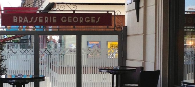 Lyon – a traditional Sunday lunch at Brasserie Georges