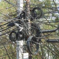 Cable Chaos - the power struggle (or the struggle for power) in Kathmandu.