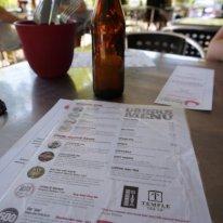 Mash Brewing drinks menu Swan Valley Perth