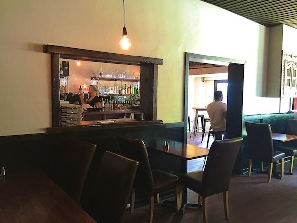 Inside Decanter Bar Vic Park