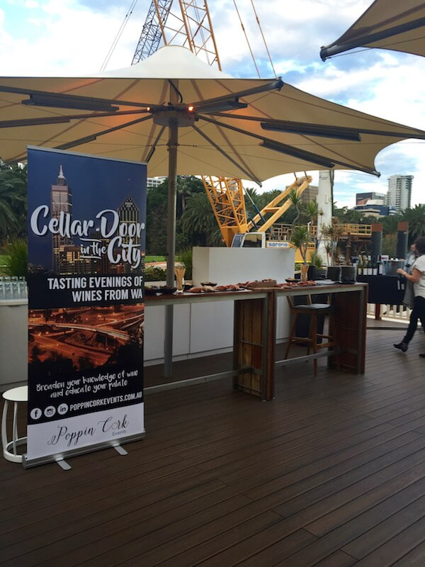 Cellar Door in the City by Poppin Cork Events - Aqua Bar Perth