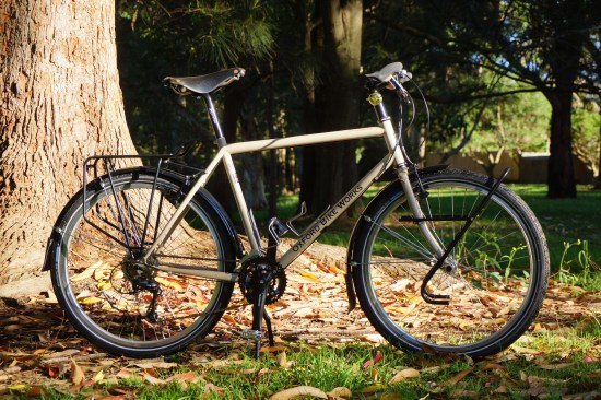 Tom Allen's Expedition touring bike.
