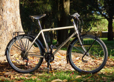 Tom Allen's Expedition Touring Bike