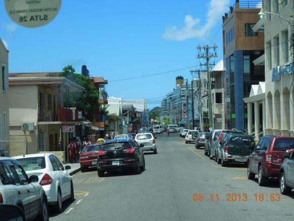 圣约翰市区街景